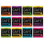 VIAGGIO ESPRESSO - 120 capsules de café compatibles avec Nespresso - SÉLECTION CLASSIQUE   Comprend Ristretto Intense Arabica Espresso Décaféiné Lungo Capsule Aromatisée Pack (Balnes Europe SL, neuf)