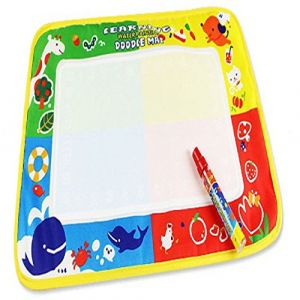 Jouets pour bébé,Transer® 46X30cm 4 couleur eau dessin peinture passe-partout & stylo magique Doodle enfants cadeau jouet (Transer, neuf)