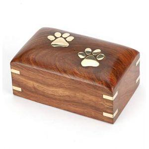 Urns UK Urne funéraire en Bois pour Animal Domestique (Everyday-Deal, neuf)