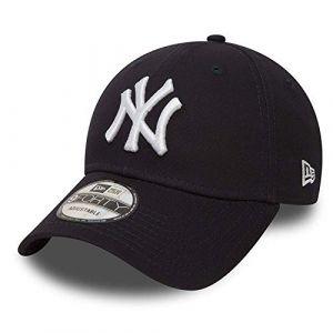New Era 9forty Strapback Casquette MLB Yankees de New York Los Angeles Dodgers Hommes Femmes Casquette Chapeau Bundle avec UD Bandana - NY Bleu Marine #2505, Adjustable (urbandreamz, neuf)