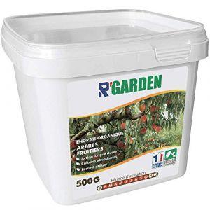 R'Garden | Engrais Organique Arbres Fruitiers | Engrais Ecologique | Fertilisant Naturel | Nourrit en Profondeur | Facile d'Utilisation | 500G (R'PACK, neuf)