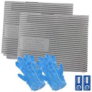 Spares2go hotte filtre à graisse kit pour Airlux de cuisine Extracteur d'air Grille d'aération (SPARES-2-GO, neuf)