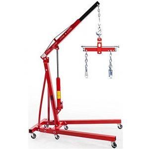 EQUIPEMENT EXPRESS SICOBA Set Chevre d'atelier Grue de Levage 2T + Palonnier Equilibreur de Charge 907kg (EQUIPEMENT EXPRESS, neuf)