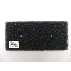 Samsung DC62-00376A Filtre éponge pour sèche-linge à pompe à chaleur, filtre de sèche-linge à condensation, mousse filtrante DV-F500E, filtre de socle SEAL DUCT (Juma-Filtertechnik, neuf)