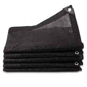 LYQCZ Filet D'Ombrage 8 Broches Ombrage 85% Renforce ÉPaissir Voile Ombrage, Serres Filet Coupe-Vent avec Oeillets,pour La Couverture VéGéTale/Serre/Jardin/Pergola(3x7m/9.84x22.96ft) (Magasin parité - L, neuf)