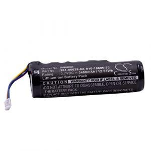 vhbw Li-ION Batterie 3400mAh (3.7V) pour Collier de Chien entraîneur de Chien Garmin Alpha, Alpha 100, DC50, GAA002, GAA003, GAA004, T5, TT10, TT15 (vhbwfrance, neuf)