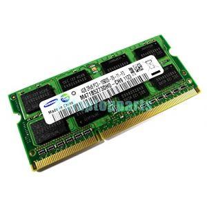 Samsung 4GB DDR3 1333MHz Unbuffered SODIMM Module de mémoire 4 Go - Modules de mémoire (4 Go, 1 x 4 Go, DDR3, 1333 MHz, 204-pin So-DIMM) (COSMORAMA, neuf)