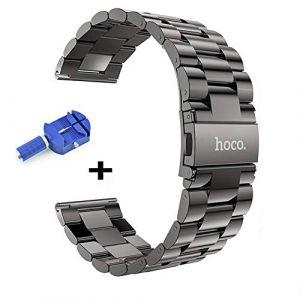 hoco. Bracelet montres, 22mm Premium Watch Strap avec outil de suppression de broches de liaison Appliquer à Samsung Gear S3 Frontier / Classic&Galaxy Watch 46mm (COOLPLAY, neuf)