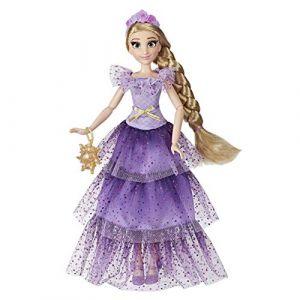 Disney Princesses - Poupee Princesse Disney Série Style Raiponce - 30 cm (MARKETOY, neuf)