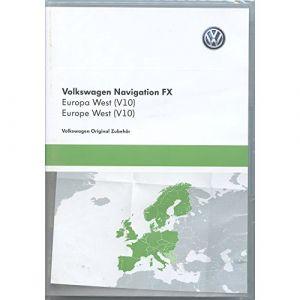 Volkswagen 3C8051884dd Carte SD V10Europe Système de Navigation RNS 310FX Logiciel Navi Original VW Navigation (GPS UPDATE, neuf)