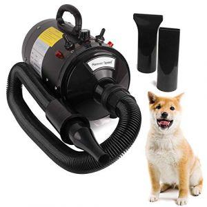 Miafamily Séchoir Animal Pet Dryer Pulseur Séchage-Poils Professionnel Sèche-Chien--avec Prise européenne 2400 W (miafamily, neuf)