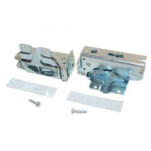 Siemens 481147Accessoires Réfrigérateur/portes/réfrigérateur congélateur charnière de porte KIT, pack de 2 (stock de pièces détachées, neuf)