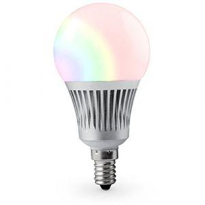 LIGHTEU®, 5W E14 nouvelle conception Milight sans fil E14 5W 2.4G RF télécommande RGBCCT LED ampoules (télécommande non incluse), 450LM, fut013 (LIGHTEU GMBH, neuf)
