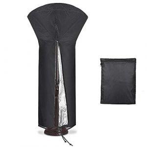 Diealles Shine Vordas Housse pour Parasol Chauffant Noir 226 x 85 x 48 cm (Vordas Direct, neuf)
