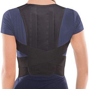 TOROS-GROUP Correcteur De Posture – Maintien Du Dos et Épaules Pour Homme et Femme - Corset De Soutien - Noir - X-Large (TOROS GROUP, neuf)