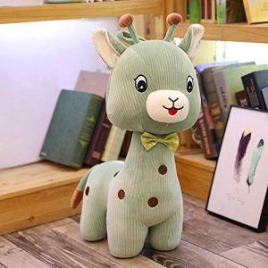 Peluche jouet doux mignon mignon girafe poupée poupée enfant fille cadeau d'anniversaire-vert_85 CM (lizhaowei531045832, neuf)