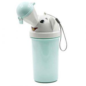 Urinoir portable pour bébé et enfant réutilisable pour le camping, la voiture, les voyages pour garçons et filles. (Yinuoday, neuf)
