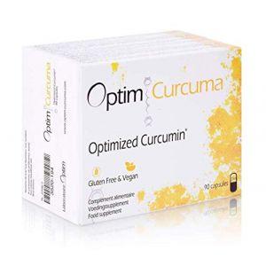 Optim Curcuma Longvida - 90 capsules - Curcumine Optimisée hautement assimilable (Laboratoire Optim, neuf)