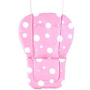 Fitzulam Poussette Coussin Imperméable Chaise Haute Pour Bébé Rembourrage Doublure Pour Siège De Voiture Pour Bébé Infant Respirant Pad Tapis De Landau (Rose) (Fitzulam, neuf)