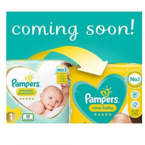 Pampers New Baby Lot géant de 2 x 68 couches Taille 2 (UK1ONE, neuf)