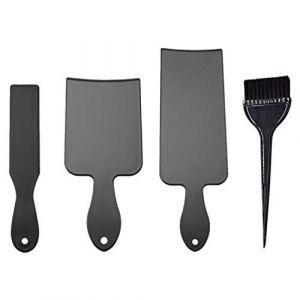 PIXNOR 1 Set Balayage Board Brush Set Surligneur Board Brush Kit Coloration Des Cheveux Peigne Coiffure Pick Color Tools (bethphia, neuf)