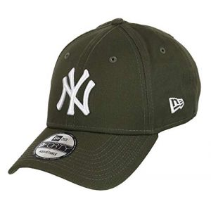 Unbekannt New Era 9Forty Strapback Casquette MLB Yankees de New York Plusieurs Couleurs - NY Nov/Blanc, OSFA (One Size Fits All) (capspin, neuf)