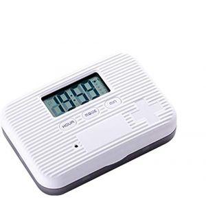 Boîte à pilules Organisateur Portable Electronique Numérique Intelligent Boîte à pilules Intelligente Rappel De Six Compartiments Mini Boîte De Rangement Scellée (zhangcai shop, neuf)