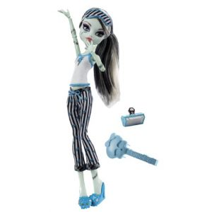 Monster High - V7975 - Poupée Pyjama Monster High - Frankie Stein (TOY WORLD GROUP, neuf)