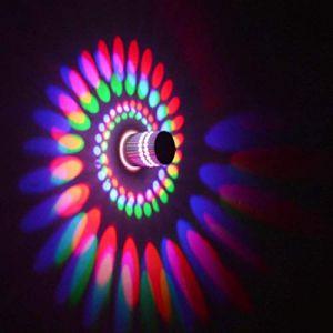 Coocnh Applique Murale Interieur LED Effet Moderne 3W Farbe en Aluminium Lampe de Mur Decorative Pour Chambre Enfant Couloir Hôtel Restaurant Cuisine Salle à Manger (Coocnh online, neuf)