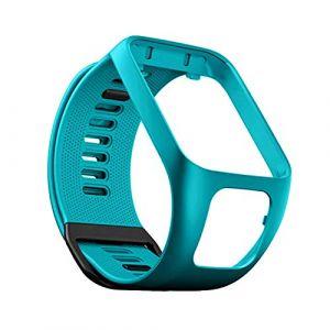 Bracelet de Montre en Silicone pour Tom Tom Runner 2/3 Bracelet de Étanche et Sport pour Tomtom Golfer 9 Adventurer (YVYV-FR, neuf)