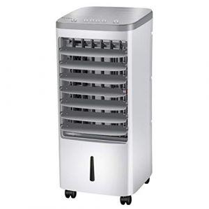 Bearbelly Ventilateur de climatisation Refroidisseur d'air Froid Domestique Petit climatiseur Ventilateur électrique Simple Ventilateur de Refroidissement Vertical Mobile (Bearbelly, neuf)