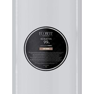 Ecobell Recharge 50g Chatain Clair Poudre de Cheveux Volumatrice Calvitie (Pharmacie des 2 Cours, neuf)