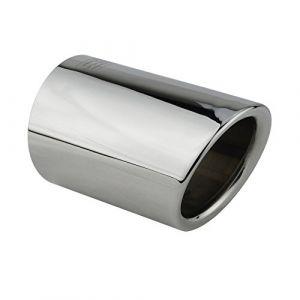 L&P A292 1 Embout de pot d'échappement en acier inoxydable poli et chromé Plug & Play (Inter-Sale24de, neuf)