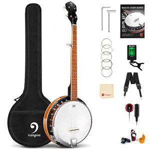 Vangoa Banjo 5 cordes avec peau Remo (FanYin, neuf)