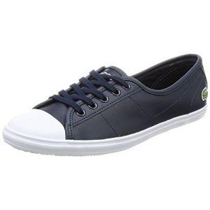 Lacoste Ziane BL 1 Spw, Baskets Femmes, Bleu (Nvy), 40,5 EU (Atlantic Shoes, neuf)