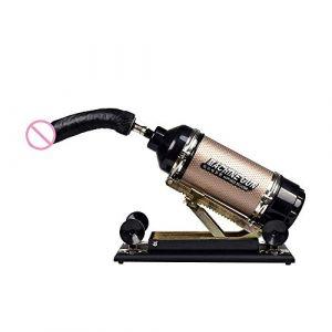 hommes et femmes super amour sex machine automatique à poussée rapide télescopique G point arrière machine et équipement (or)(1) (Cxm-uk, neuf)