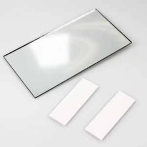 AutoScheich® automobile camion de maquillage miroir miroir grossissant Pare-Soleil intérieur Rétroviseur supplémentaire (AutoScheich, neuf)