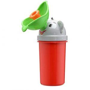 Jessie Urinoir pour enfant portable de propreté de dessin animé Toilettes d'urgence pour camping, voiture, voyage (garçons et filles) (Rouge - fille) (JEssie, neuf)