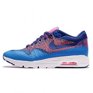 Nike W Air Max 1 Ultra Flyknit - Baskets - Femme - Bleu/Multicolore, 39 EU (Smartsho3s, neuf)