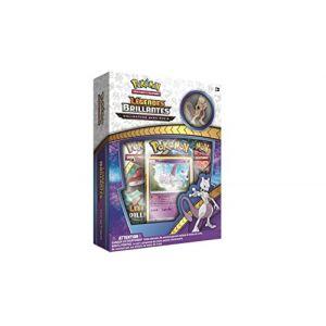 Coffret collector Cartes Pokémon Légendes brillantes - Pin's Mewtwo Soleil et Lune 3.5 - FR (Lilifolies Airsoft, neuf)