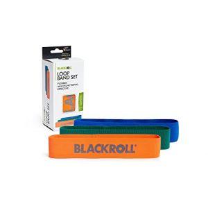BLACKROLL LOOP BAND | Bandes élastiques de fitness & de musculation | 3 résistances différentes | Bande de résistance pour une musculature stable | Bandes de fitness en set (BLACKROLL®, neuf)