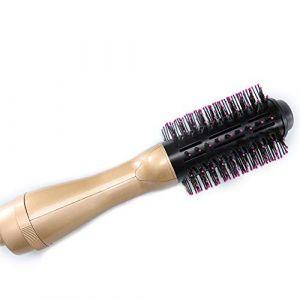 Hot Air Brush Multi Fonction 4 En 1 Électrique Sèche-Cheveux Brosse Défriser Les Cheveux Et Bigoudi Brosse Salon-Style Fer À Friser Outils Cheveux Styler,Gold (DeKang Shop, neuf)