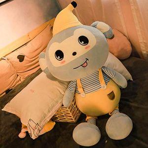 Peluche jouet mignon petit singe chiffon poupée sommeil oreiller lit poupée cadeau d'anniversaire -1_85 cm (lizhaowei531045832, neuf)