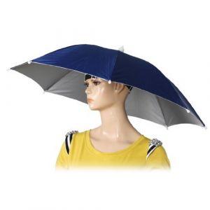 """SODIAL(R)26 """"Diametre Bande Elastique Peche Chapeaux Parapluie Chapeau Bleu fonce (Fly Service, neuf)"""