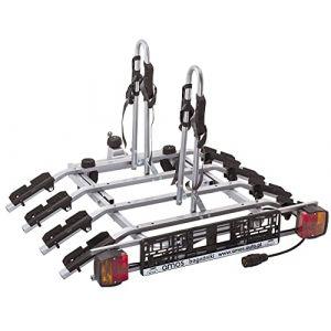 AHAKA Porte-VELOS Suspendu sur ATTELAGE Rabattable pour 4 VELOS | Porte-vélo (TOWBARS-Online, neuf)