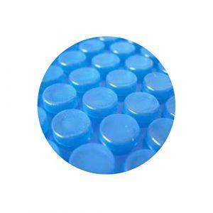 Pool System Protection Bâche Solaire de Piscine à Bulles sans Renfort ÉCONOMIQUE 600µ 8 x 4m (Pool System Protection, neuf)