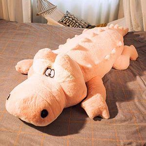 Mignon crocodile chiffon poupée oreiller dormir peluche jouet poupée rose 60 cm (lizhaowei531045832, neuf)