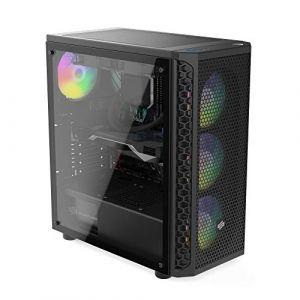 Sedatech PC Gamer Ultimate Intel i7-8700K 6X 3.7Ghz, Geforce RTX 2070 8Go, 32Go RAM DDR4, 480Go SSD, 2To HDD, USB 3.1, WiFi, CardReader. Unité Centrale & Win 10 (Sedatech FR, neuf)