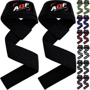 AQF Sangle Musculation Protege Poignet Néoprène, Sangles De Levage Main pour Entrainement sur Barre, Excercices De Bodybuilding Musculation (SPORTS INSIDE, neuf)