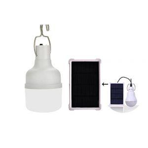 KK.BOL Portable Ampoule Solaire 150LM 1600mAh LED lampe solaire interieur eclairage exterieur camping (KK.BOL UK1, neuf)